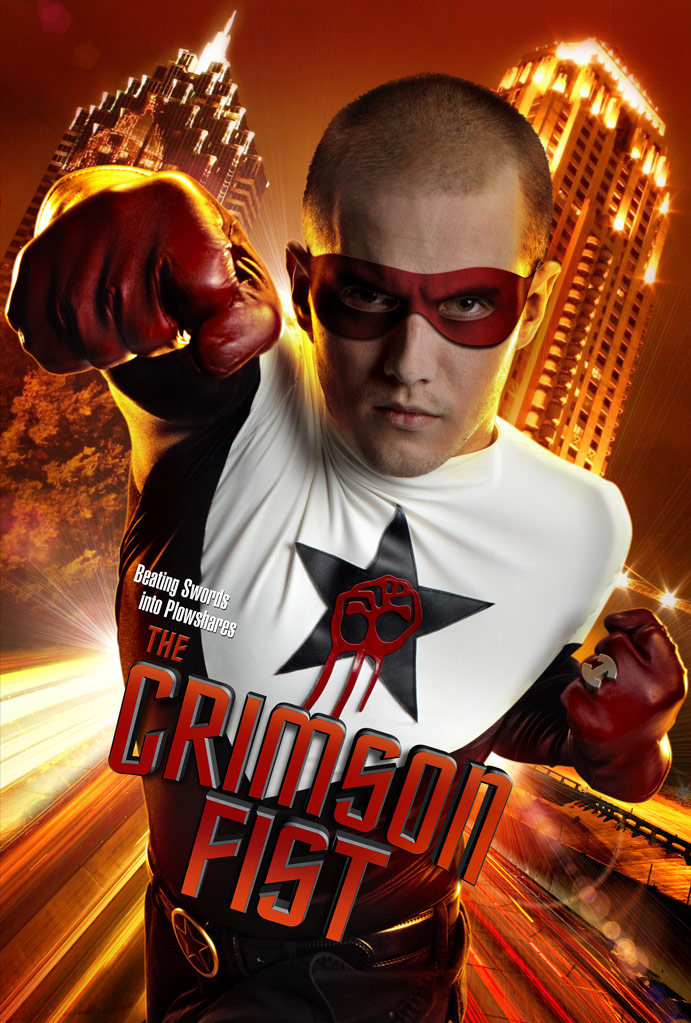 the crimson fist poster the real life super hero project